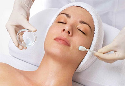 chemical peels exfoliation treatment